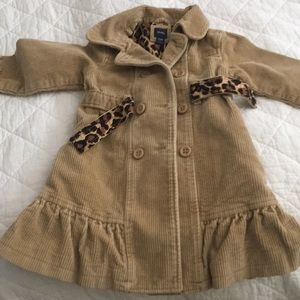 GAP Toddler Corduroy jacket with Leopard 🐆 print